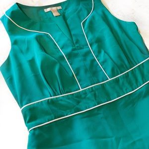 Banana Republic Dresses - Banana Republic Sleeveless Fitted Midi Dress sz-4